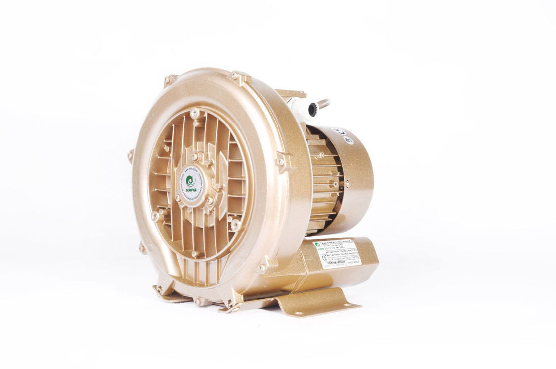 Single Phase Single Stage Air Blower For Electroplating Aeration Fish Pond 1.3kw