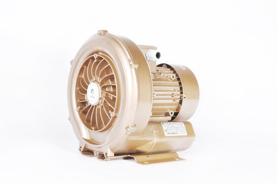 3 Phase Regenerative Vacuum Pump ,  0.7 KW Ring Blower For Fishpond Aeration