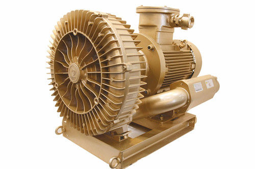 15 KW Side Channel Explosion Proof Vacuum Pump Blower Biogas Transferring
